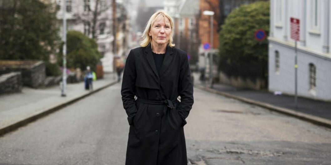 """Prorektor ved Universitetet i Bergen, Margareth Hagen, oppfordrer forskere til å søke <span class=""""caps"""">EU</span>-midler. Foto: Ingvild Festervoll Melien"""