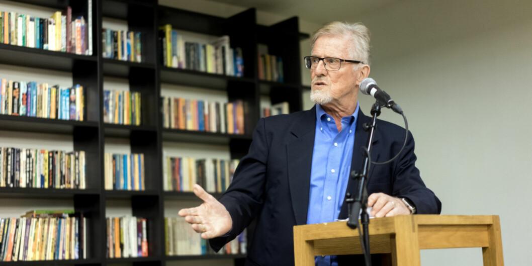 Professor Gudmund Hernes ble oppnevnt til ny styreleder ved Uppsala Universitettorsdag.