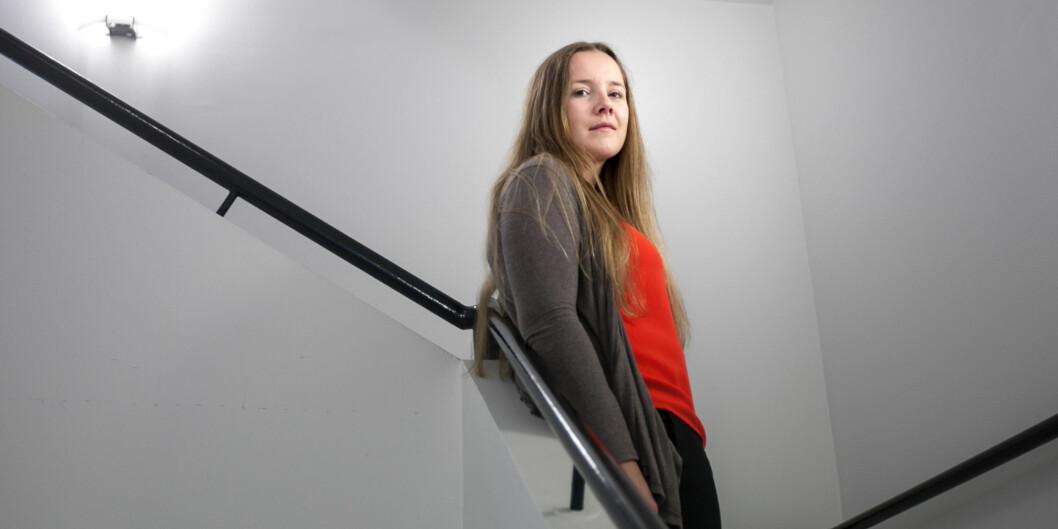 Leder i Norsk studentorganisasjon, Marianne Andenæs, er uenig i kritikken av organisasjonen. Foto: Nicklas Knudsen