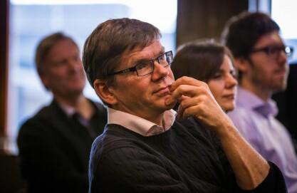 UiO-rektor Svein Stølen vil avdekke mørketallene.