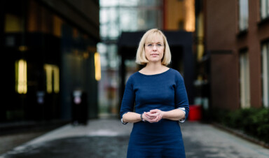 Aktiv motstander av OsloMet: språkdirektør Åse Wetås. Foto: Språkrådet