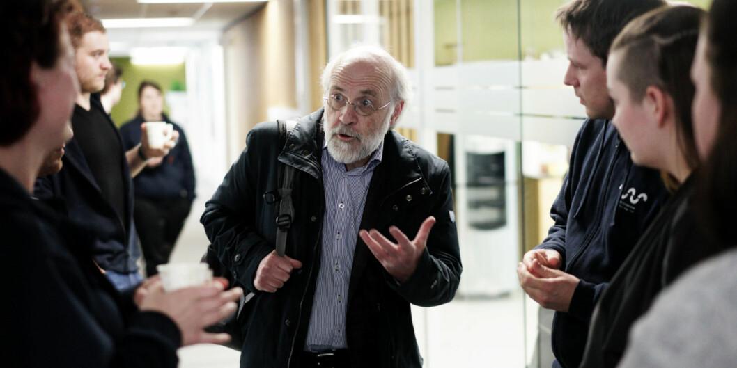 Rektor Petter Aasen ved Høgskolen i Sørøst-Norge trekker all økonomisk og administrativ støtte til det øverstestudentdemokratiet. Foto: Ketil Blom Haugstulen