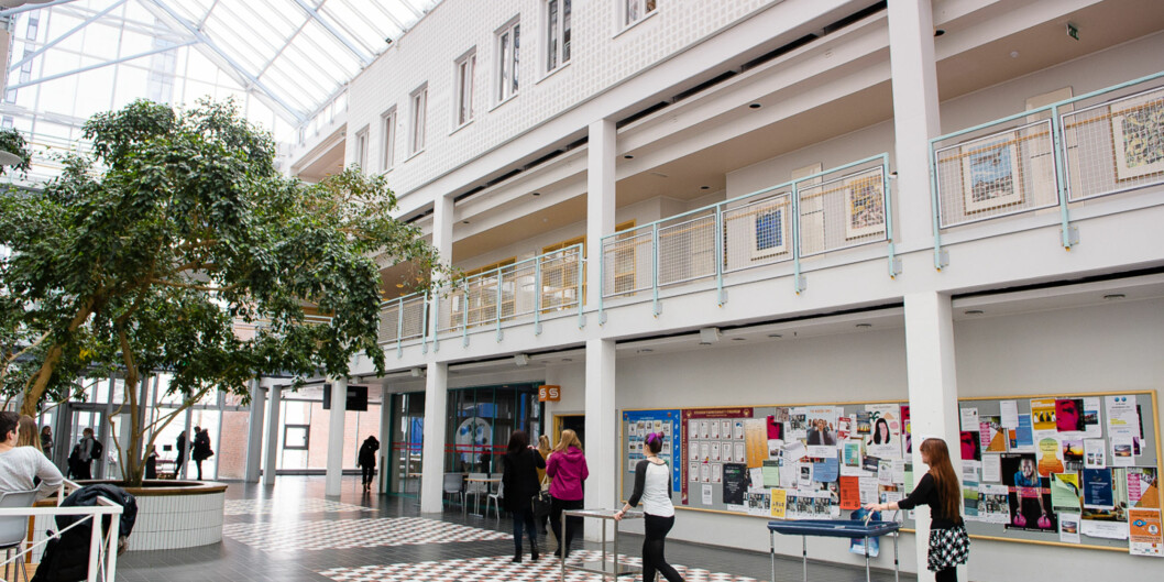 Universitetet i Tromsø. Campus. Styremøte med antall fakultet på agendaen. Foto: Lars Åke Andersen