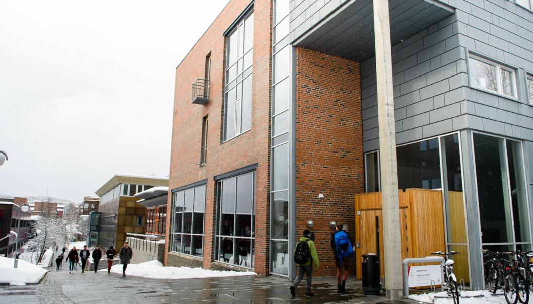 UiT Norges arktiske universitet, campus Tromsø. Arkivfoto. Foto: Lars Åke Andersen