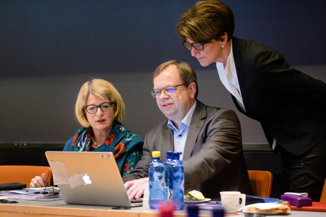 Rektoratet ved UiT Norges arktiske universitet deler ikke bekymringene til de som mener at krav om undervisningskompetanse ved ansettelser vil bremse likestillingen ved universitetet. Foto: Lars Åke Andersen