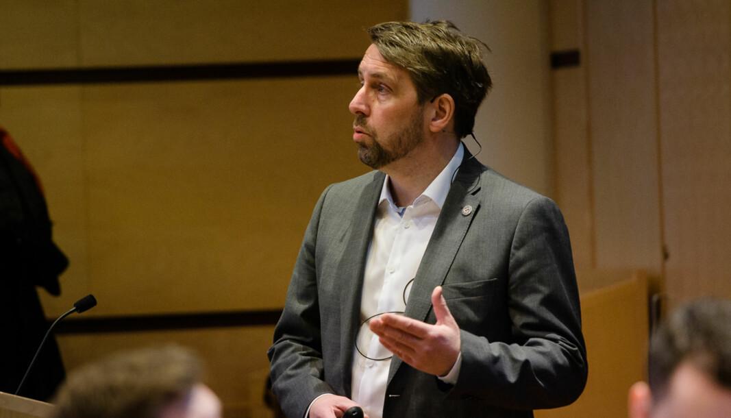 Organisasjons- og økonomidirektør Odd Arne Paulsen ved UiT trodde de var på trygg grunn da de gjorde lønnsjusteringene.