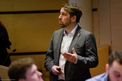 Personal- og organisasjonsdirektør Odd Arne Paulsen ved UiT Norges arktiske universitet. Foto: Lars Åke Andersen