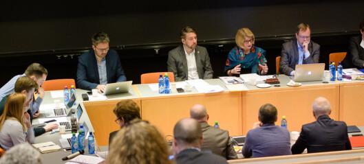 Tromsø: Skal diskutere forslag om å legge ned valgte instituttstyrer