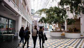 Fadderordningene ved UiT, her fra campus i Tromsø, får midler fra Sparebank1 Nord-Norge.