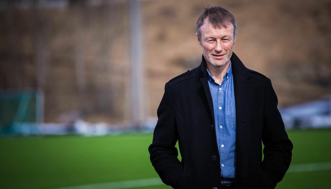 Tidligere håndballspiller og gymlærer Lars Tore Ronglan er ny rektor ved Norges idrettshøgskole. Foto: Siri Ø.Eriksen