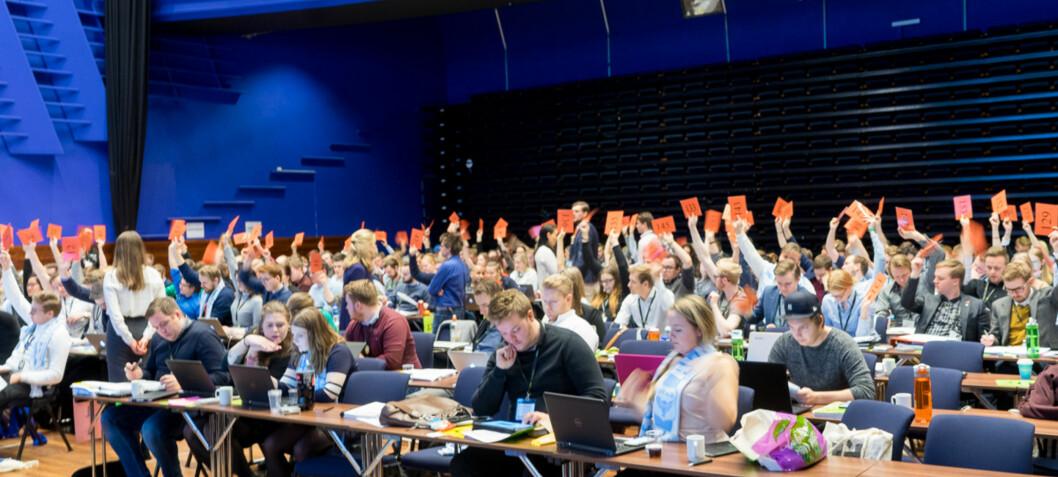 Følg NSO-landsmøtet direkte