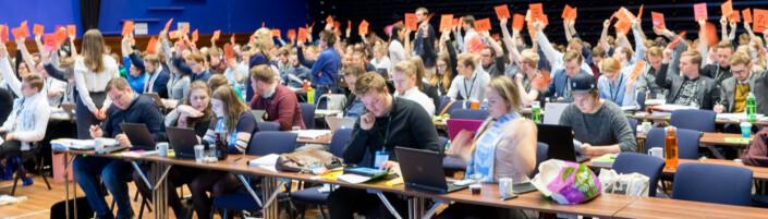 Følg dekningen av landsmøtet i Norsk studentorganisasjon!