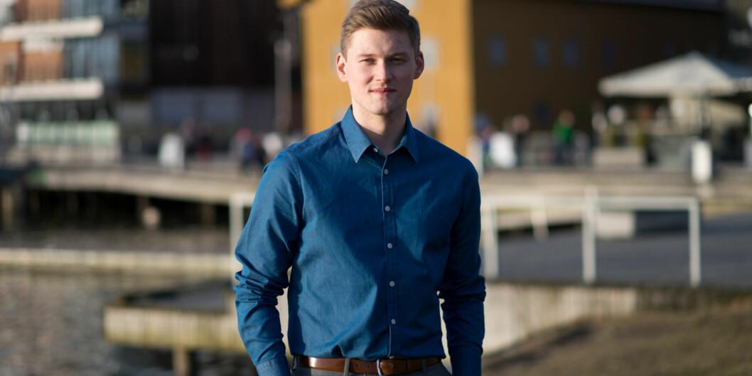 Mats Johansen Beldo avslører hvilket parti han mener er best på høyereutdanning. Foto: Ketil Blom Haugstulen