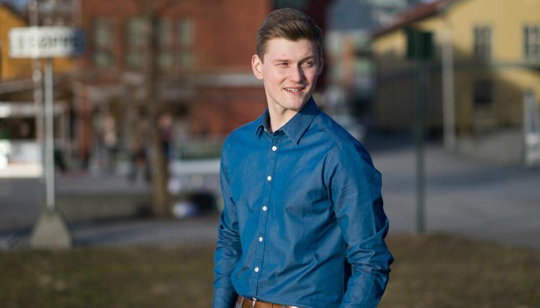 Leder av Norsk studentorganisasjon, Mats Johansen Beldo, mener at dagens lovverk er full av mangler. Foto: Ketil Blom Haugstulen
