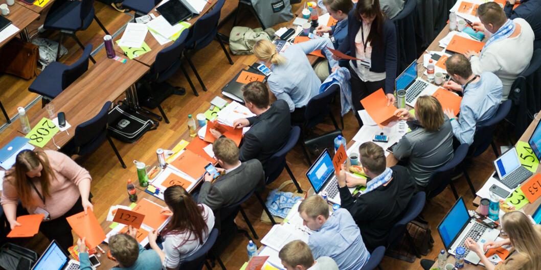 Studentlederne ved universitetene i Bergen, Agder og Stavanger er redd for at nok et år med ABE-kutt går ut over studentene. Foto: Ketil Blom Haugstulen
