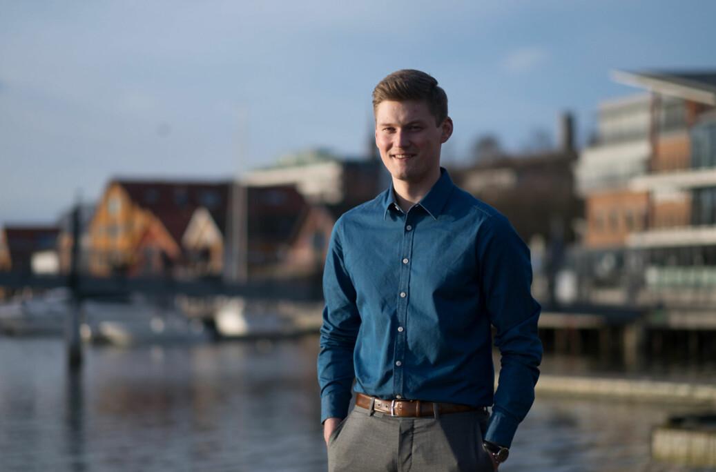 Leder av Norsk studentorganisasjon, Mats Johansen Beldo, mener de som ikke har retningslinjer bør få det på plass. Foto: Ketil Blom Haugstulen