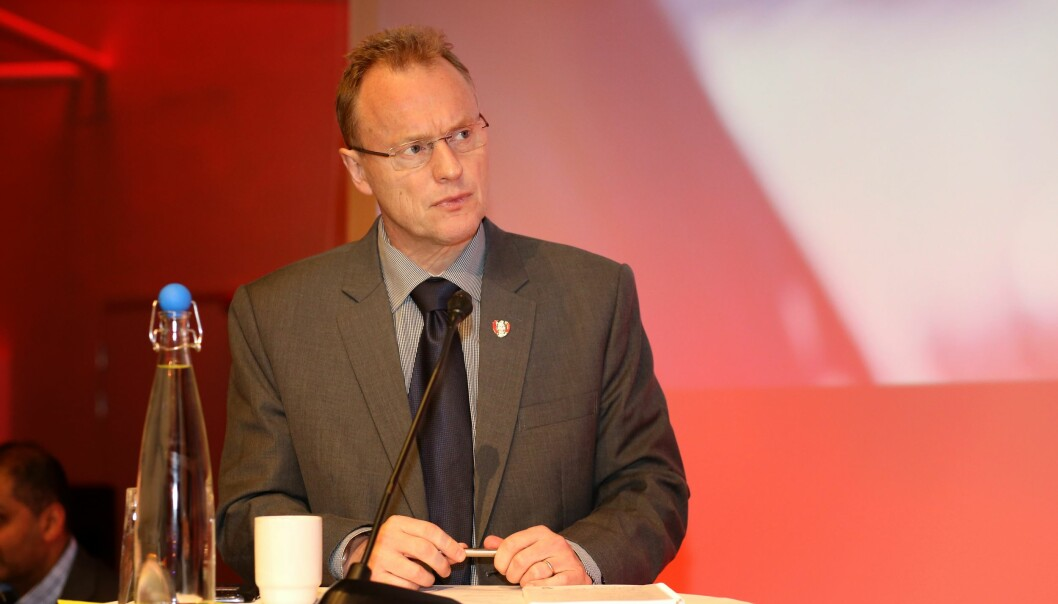 Byrådsleder i Oslo,Raymond Johansen (Ap), mener at internasjonale studenter er viktig for Oslo som studentby. Foto: Arbeiderpartiet