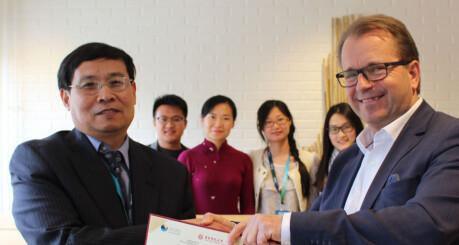 Samarbeidet med Kina blomstrer opp igjen