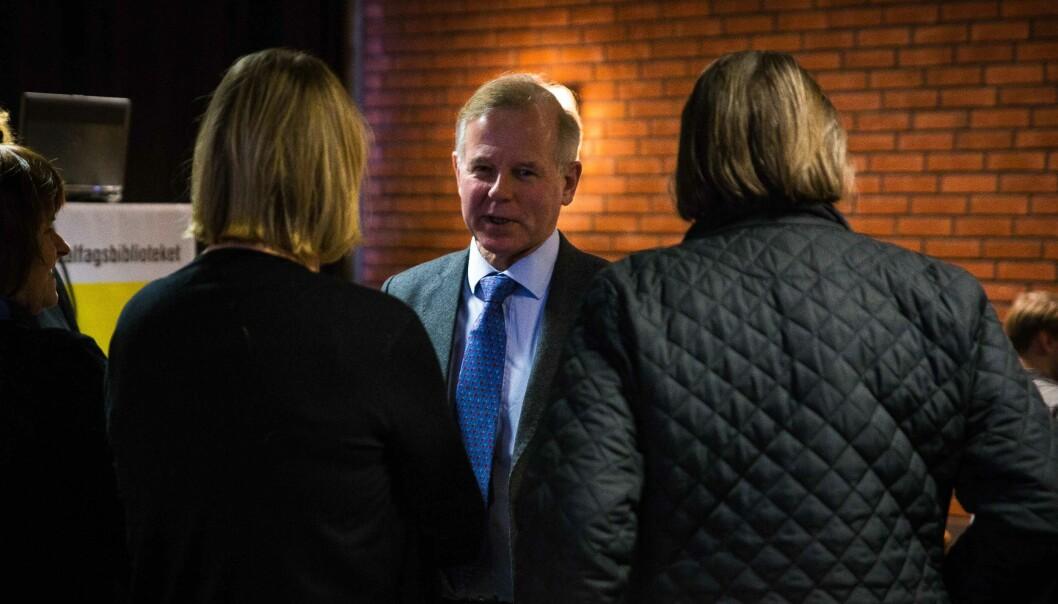 Ole Petter Ottersen er rektor ved Universitetet i Oslo. Arkivfoto. Foto: Siri Øverland Eriksen