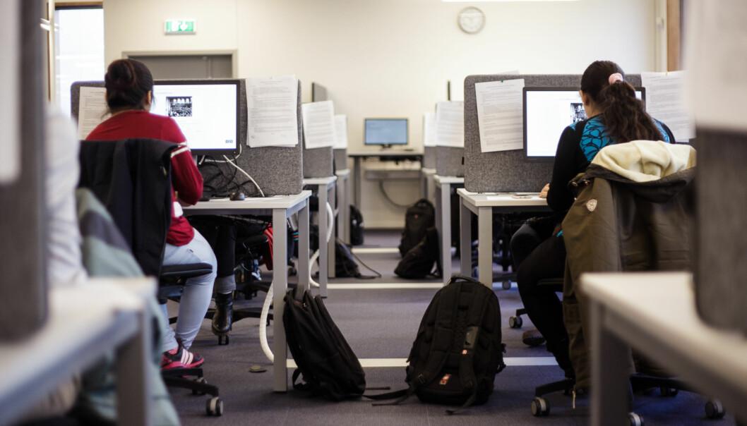 Eksamenslokalene i Silurveien 2 i Oslo vil ha plass til omtrent 400 studenter. Foto: NicklasKnudsen