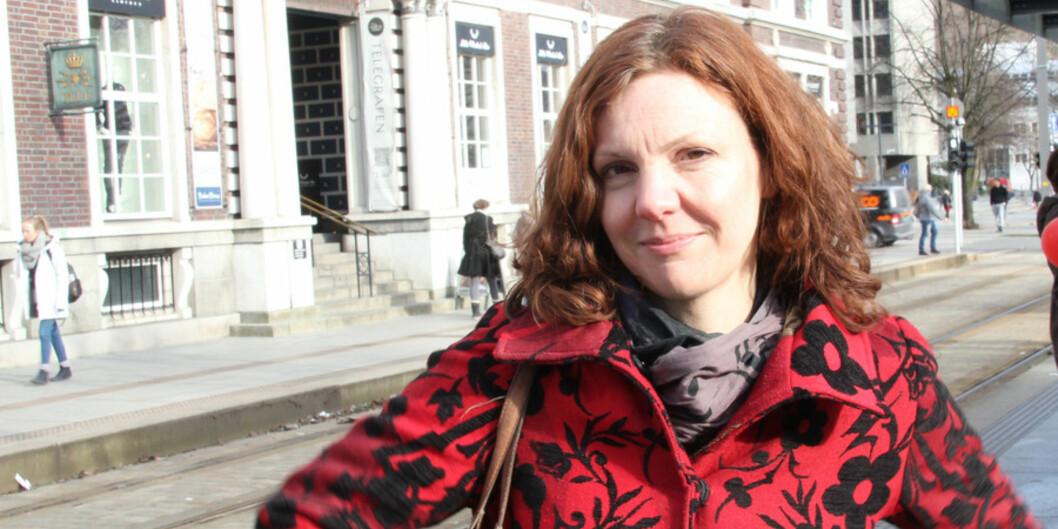 Jill Walker Rettberg har vært en del av universitetsdemokratiet ved Universitetet i Bergen i 25 år. Foto: Hilde Kristin Strand