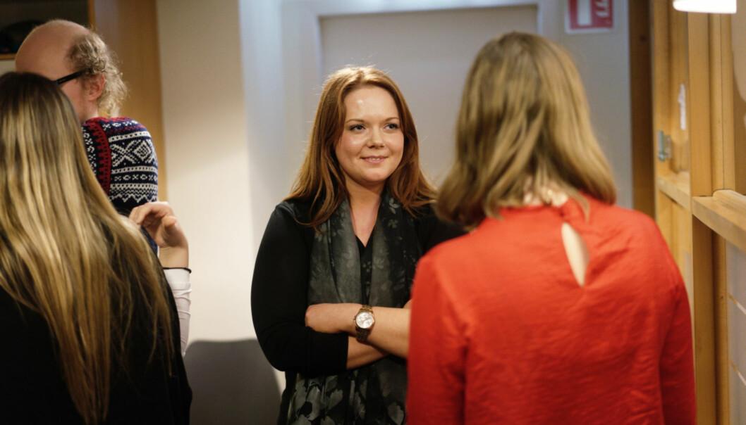 Ida Austgulen fra Høgskulen på Vestlandet er en av dem som ble valgt inn i arbeidsutvalget til NSO uten innstilling. Foto: KetilBlom