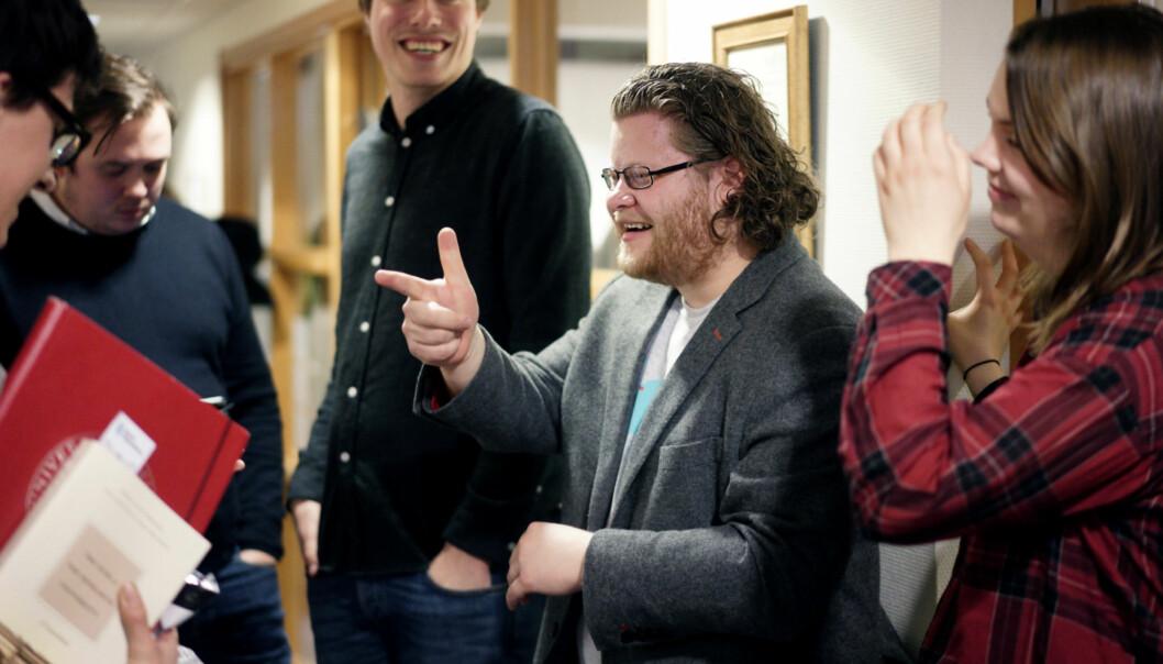 Tidligere leder i Studenttinget på NTNU, Jone Trovåg, stiller til nestleder i Norsk studentorganisasjon. Foto: Ketil Blom