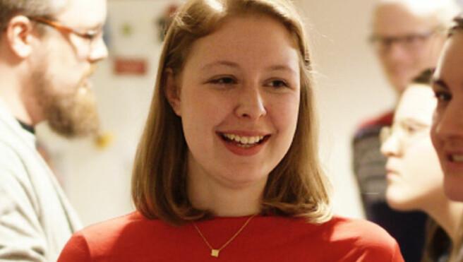 Anne Helene Bakke. nestleder i NSO. Foto: Ketil Blom Haugstulen