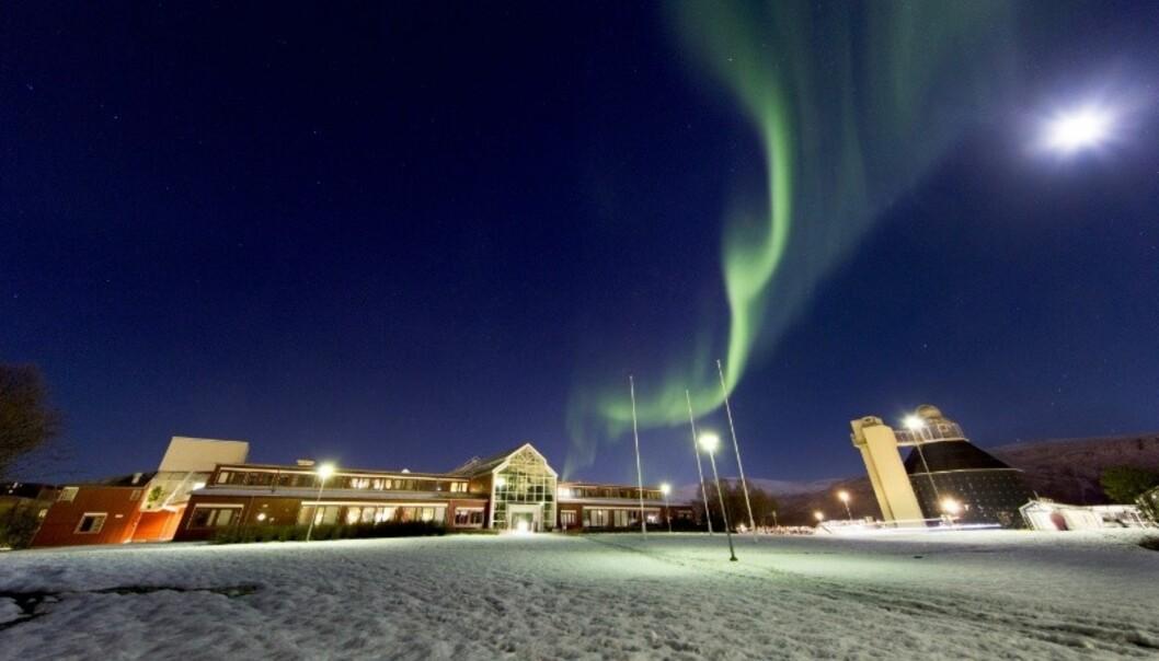 Antall fakulteter ved UiT Norges arktiske universitet kan bli halvert, hvis universitetsstyret velger smal modell for framtidig faglig organisering. Foto:UiT