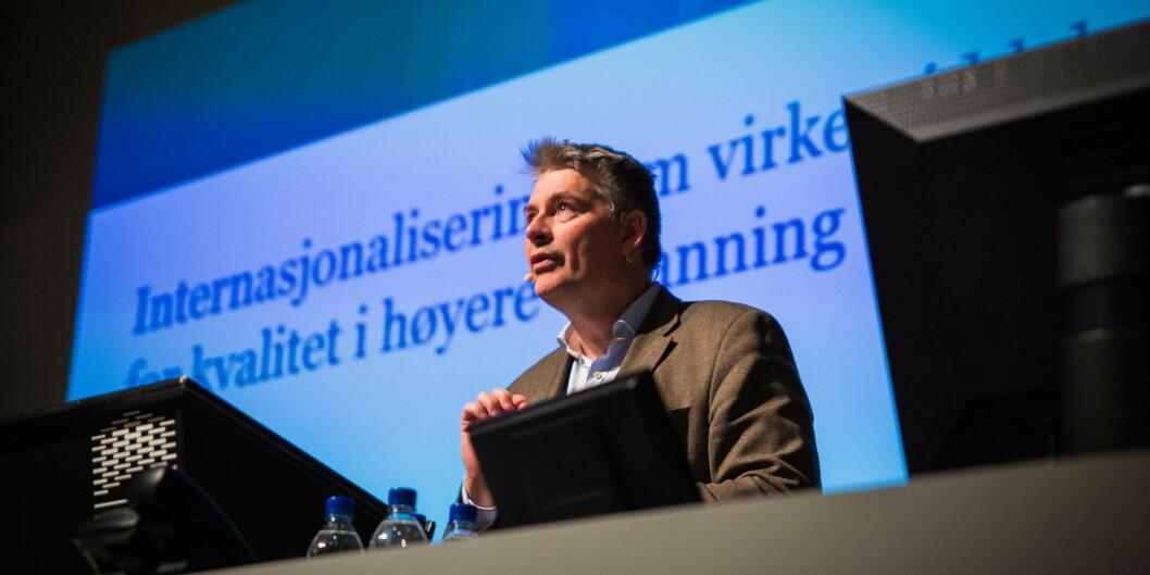 Bjørn Haugstad er statssekretær i Kunnskapsdepartementet, og tidligere forskningsdirektør ved Universitetet i Oslo. Arkivfoto: Siri Øverland Eriksen.