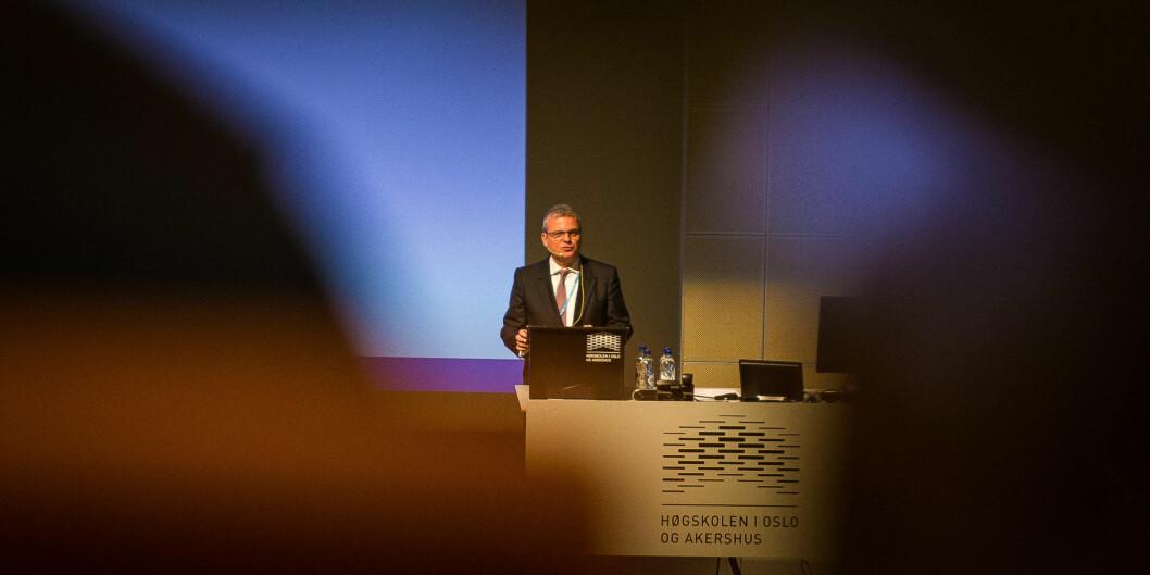 """<span class=""""caps"""">SIU</span>-direktør Harald Nybølet tror det er viktigere enn noen gang å ha en konferanse som Internasjonaliseringskonferansen, siden den setter utfordringer pådagsorden."""