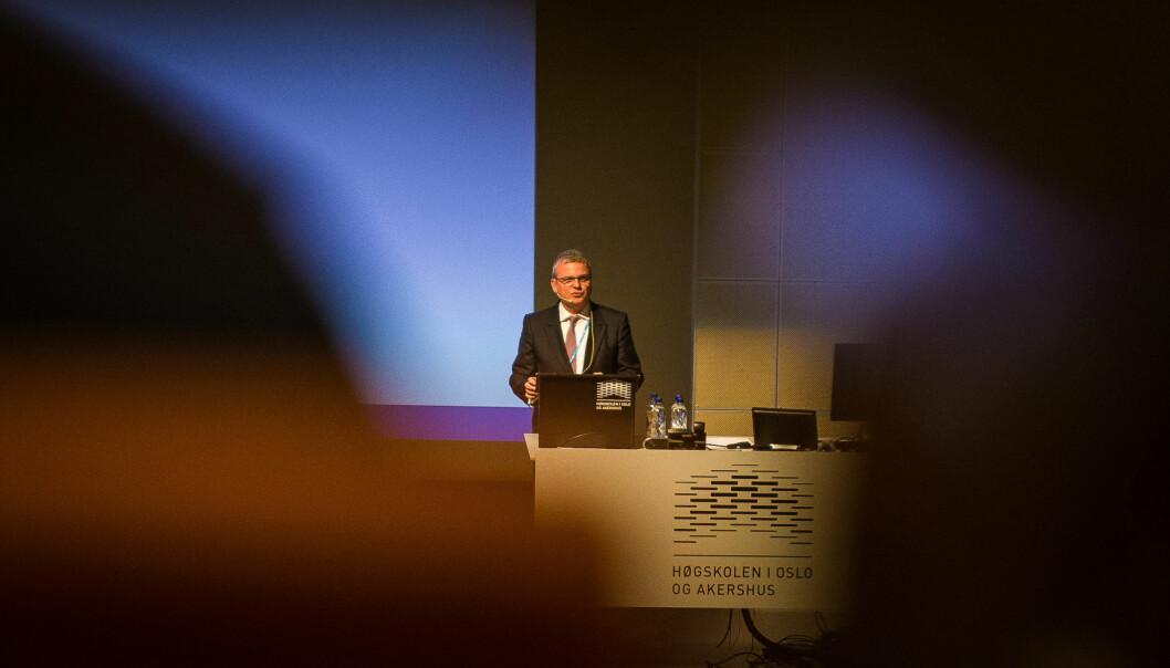 SIU-direktør Harald Nybølet tror det er viktigere enn noen gang å ha en konferanse som Internasjonaliseringskonferansen, siden den setter utfordringer pådagsorden.