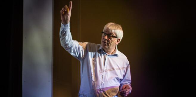 Direktør Tore Hansen ved OsloMet. Foto: Siri Ø. Eriksen