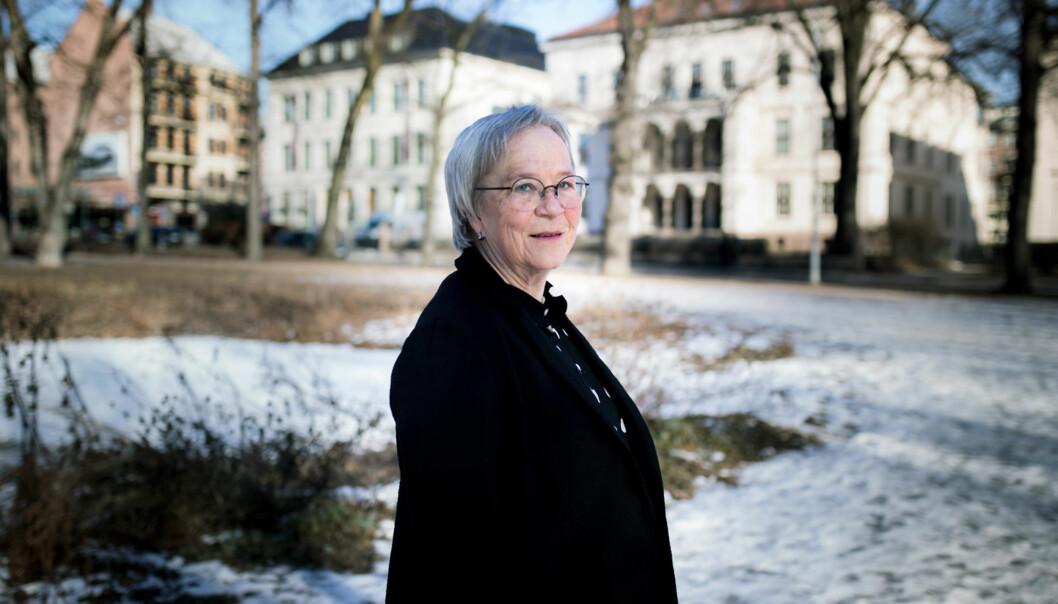 Innlandet-rektor, Kathrine Skretting, mener fortsatt masterprogrammet i idrett og psykologi er en god idé, men sier det kreves mye for å komme imål. Foto: Henriette Dæhli