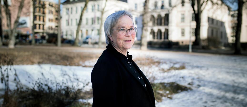 — Det var ganske vanskelig å handle uten å kunne fastslå hva som egentlig hadde skjedd, når partene framla diametralt ulike versjoner av ett og samme forløp, og begge krevde at man skulle akseptere deres versjon som sannheten, sier Kathrine Skretting, rektor ved Høgskolen i Lillehammer. Foto: Henriette Dæhli