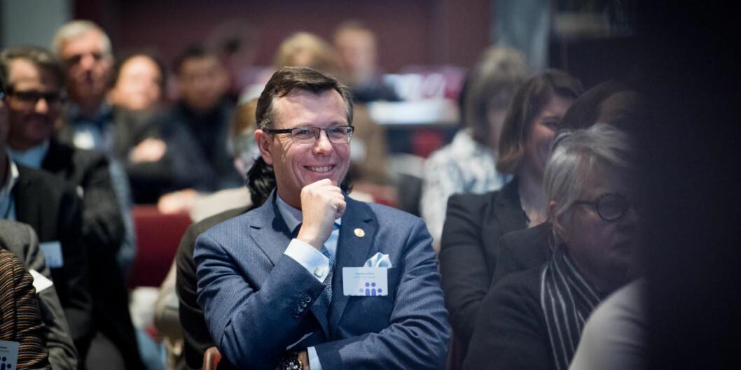 Etatene og enhetene som flyttes ut fra Oslo har god forutsetning for å lykkes i Bergen, mener rektor ved Universitetet i Bergen, Dag Rune Olsen. Foto: Skjalg Bøhmer Vold