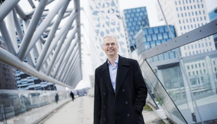 Rektor Øystein Thøgersen, NHH. Foto: Siv Dolmen/ NHH