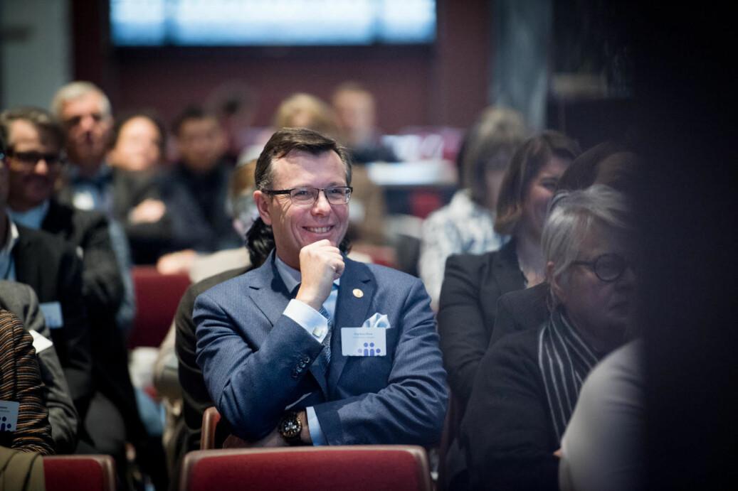Rektor ved Universitetet i Bergen, Dag Rune Olsen. Foto: Skjalg Bøhmer Vold