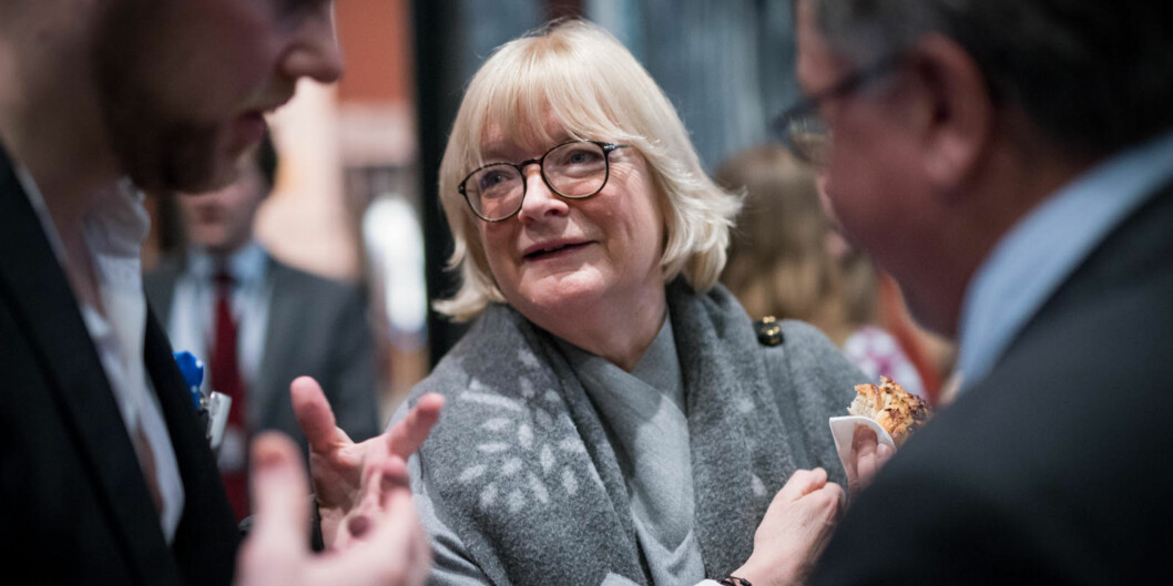Rektor Berit Rokne ønska større einingar på instituttnivå, men blei nedstemd i styret. Foto: Skjalg BøhmerVold