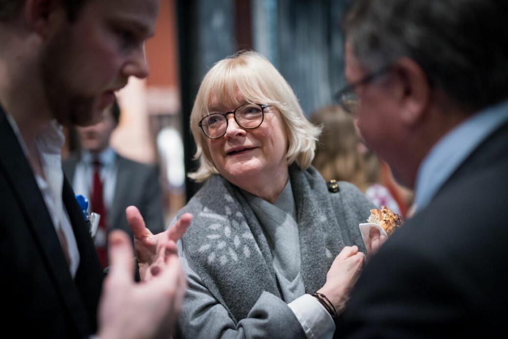 Rektor Berit Rokne ved Høgskulen på Vestlandet møter motstand mot forslag til administrativ organisering på høgskulen. Saka skal opp i styret i torsdag 8.mars. Foto: Skjalg Bøhmer Vold