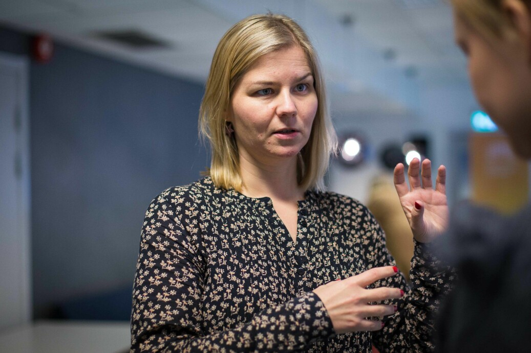 Stortingsrepresentant for Venstre, Guri Melby, lover et konkret mentor-forslag som kan realiseres raskere enn opposisjonens innspill til arbeidet med uh-loven. Foto: Siri Ø. Eriksen