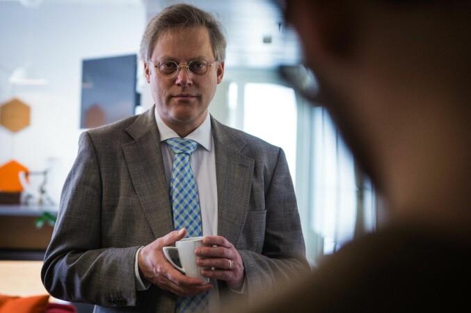 Tilsynsdirektør i NOKUT, Øystein Lund, sier University Inc. ikke vil få akkreditering som universitet. Foto: Siri Øverland Eriksen