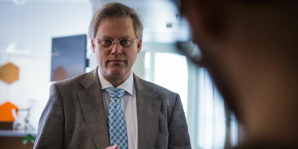 Tilsynsdirektør Øystein Lund i NOKUT håper tilsynet fører til at de fem institusjonene som har fått påvist mangler forbedrer seg innen fristen, som er 1. mai 2019. Foto: Siri Ø. Eriksen