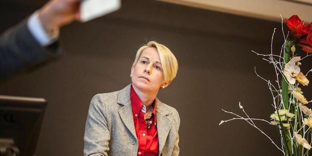 Marianne Synnes (H) er nytt medlem av utdannings- og forskningskomiteen på Stortinget. Hun går i rette med Arbeiderpartiets ønske om å endre kompetansekravene til lærerstudenter. Foto: Kristoffer Furberg