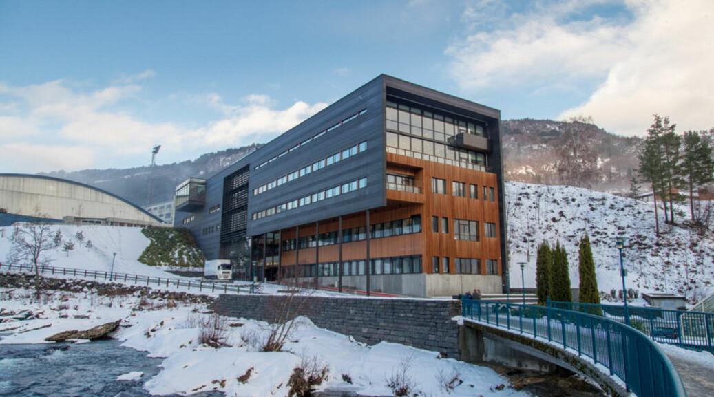 Opning av Høgskulen på Vestlandet (HVL) 10. januar 2017, campus Sogndal. Høgskulebygget ligg på campus Fosshaugane, sentralt i Sogndal. Foto: HVL