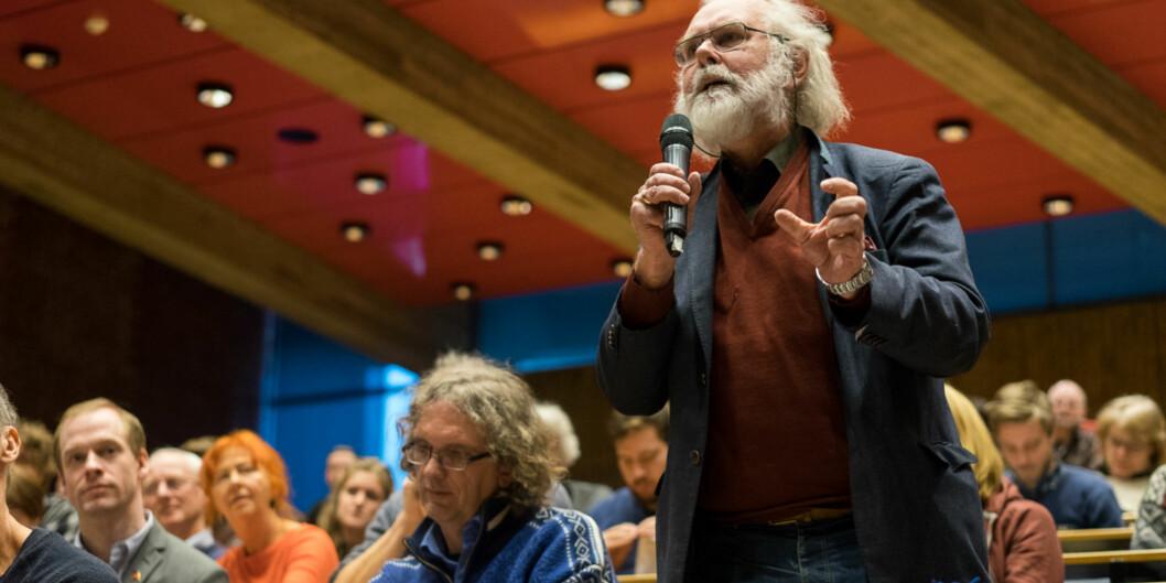 Nils Chr. Stenseth brukte taxi for over en halv million kroner de siste to og et halvt årene. Foto: Ketil Blom Haugstulen