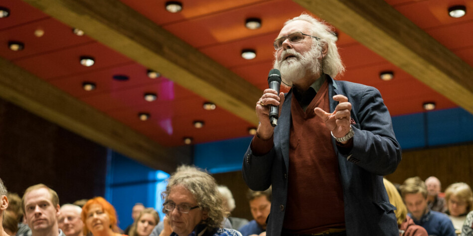 Professor Nils Christian Stenseth ved Universitetet i Oslo sier til VG at han vil betale tilbake 100.000 kroner for taxiregninger til og fra hjemmet og jobben. Foto: Ketil Blom Haugstulen