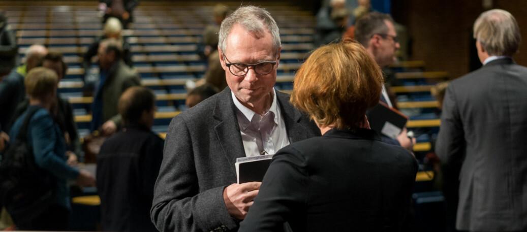 Hans Petter Graver skal lede landets Vitenskapsakademi fra 1.1.2019-31.12.2021. Foto: Ketil Blom Haugstulen