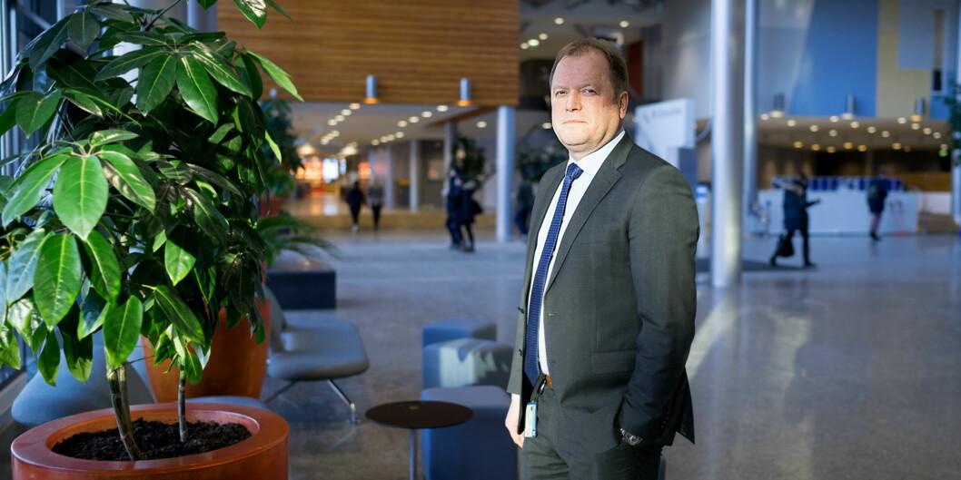 BI-rektor Jan Henjesand. BI, Nydalen. Oslo Foto: Ketil Blom Haugstulen
