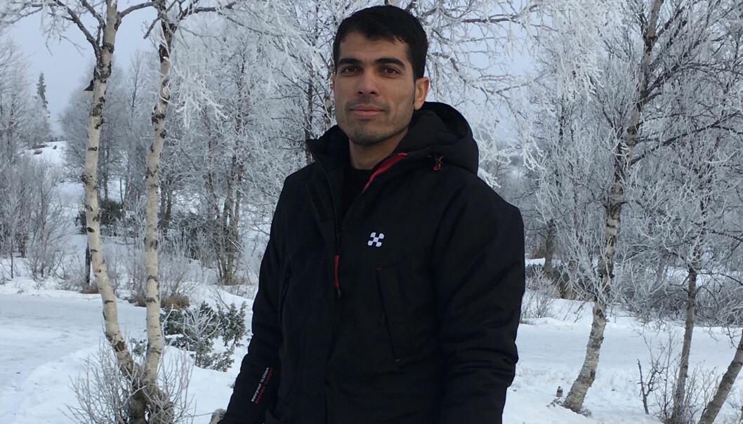 Saleh Maree Almohamad Alhafni kom til Norge høsten 2014. Nå er han bosatt i Øystre Slidre i Valdres, og fikk godkjent utdanningen sin gjennom intervju og eksamen. Foto:Privat